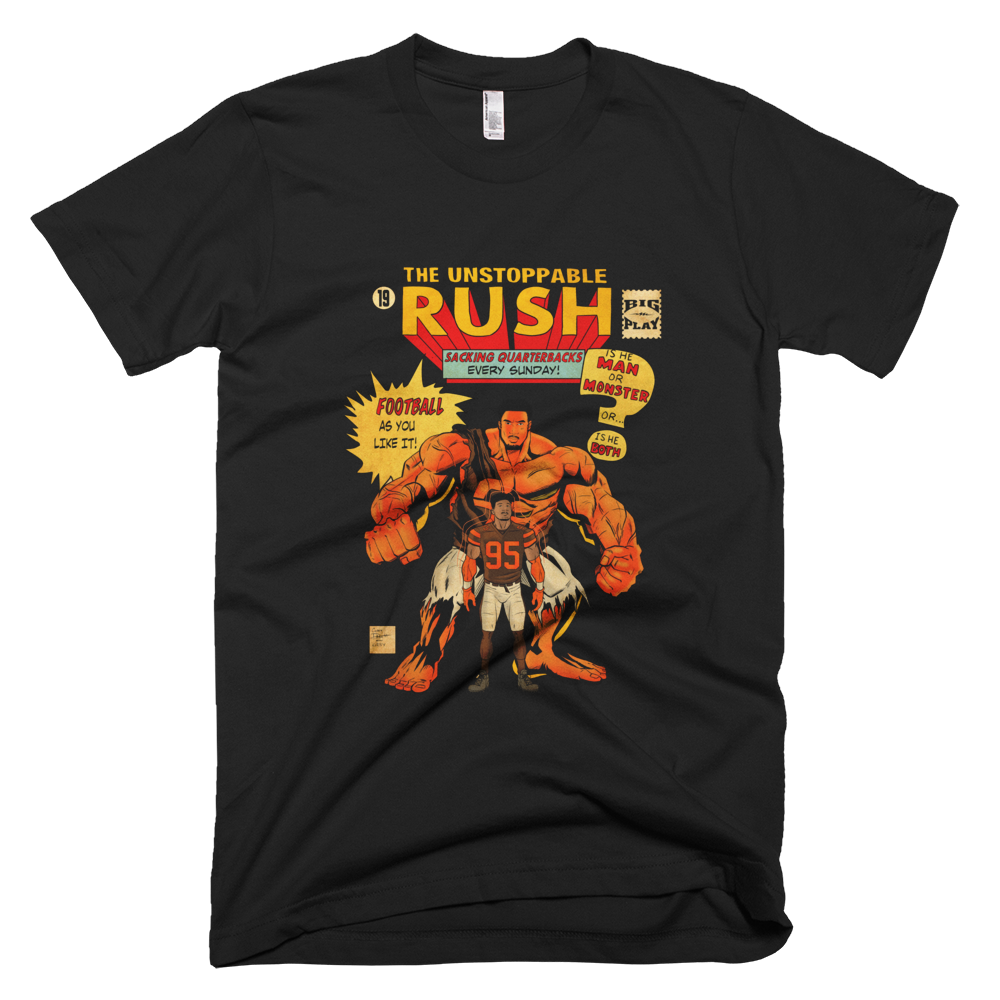 Cleveland Unstoppable Rush Comic T-Shirt