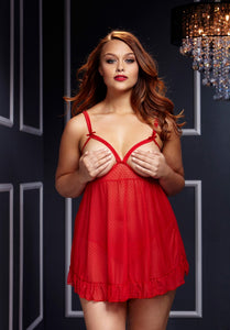Open Court Babydoll - Tiaz Boutique