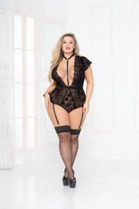 Simply Gorgeous Bodysuit - Black