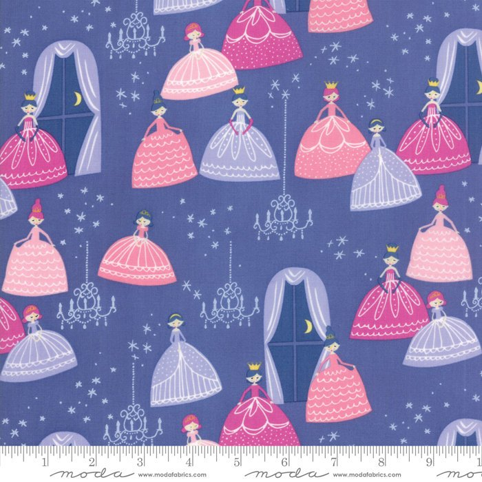 Once Upon A Time by Stacy Iest Hsu | Purple Grand Ball Fabric