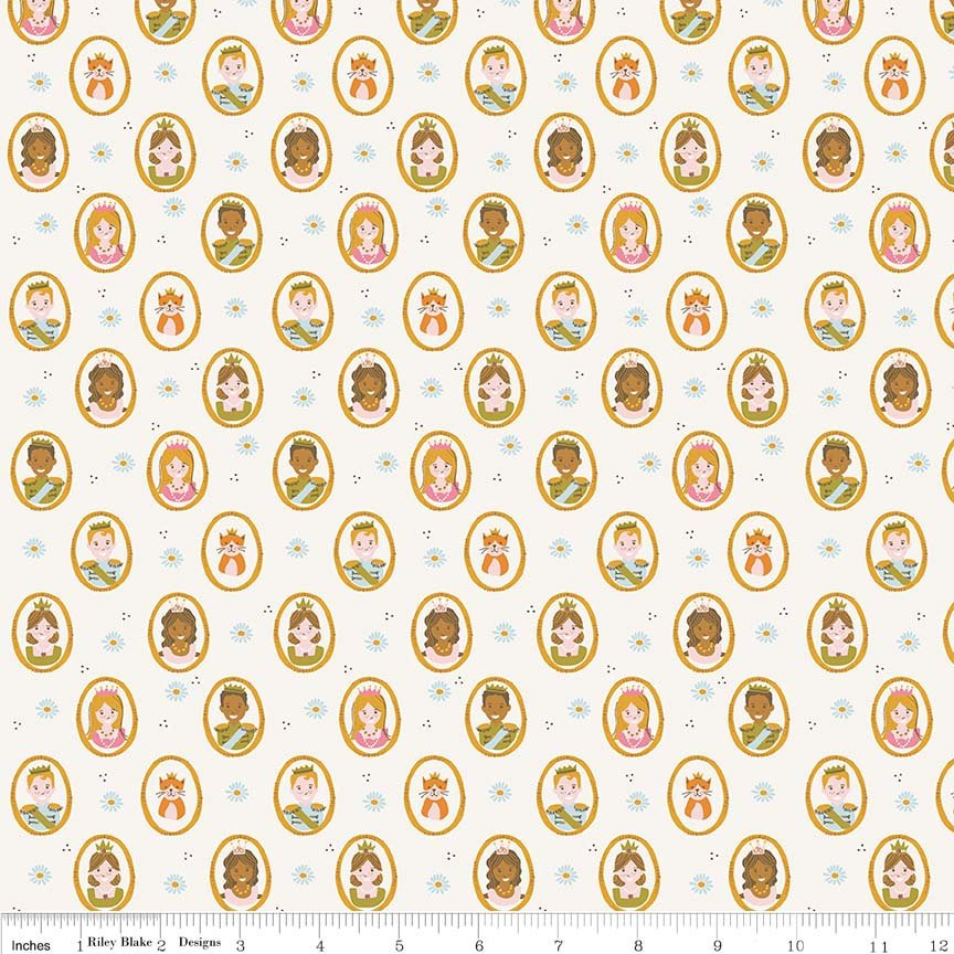 Guinevere by Citrus & Mint | Cream People Fabric
