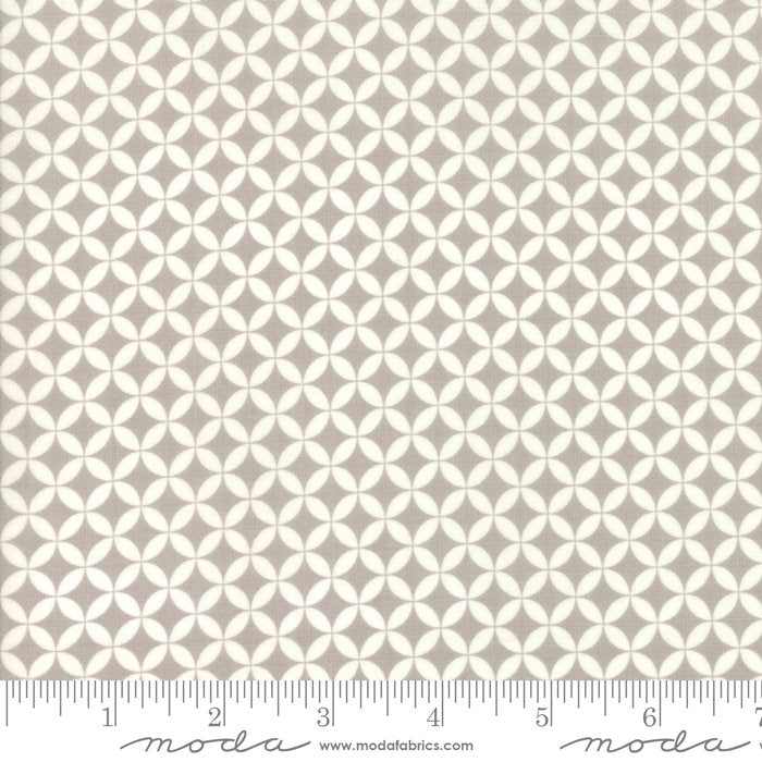 All Hallow's Eve by Fig Tree & Co | Gray Crisscross Fabric