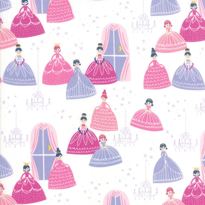 Once Upon A Time by Stacy Iest Hsu | White Grand Ball Fabric