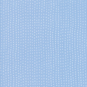 Light Blue Strings Fabric