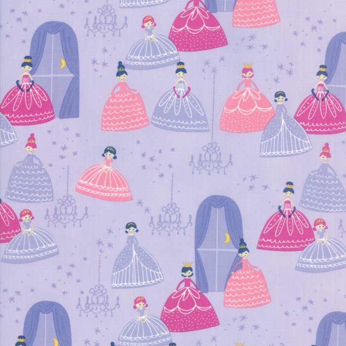 Once Upon A Time by Stacy Iest Hsu | Lavendar Grand Ball Fabric