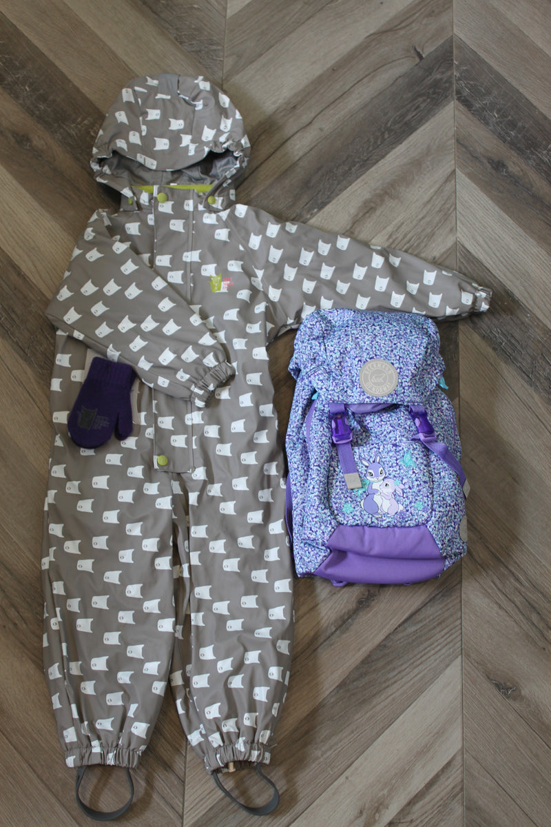 Ready for Pre-School, Purple