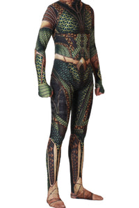2018 Aquaman Arthur Curry Traje Cosplay Disfraz