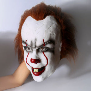 2017 IT Movie Pennywise The Clown Mask Cosplay Accesorio