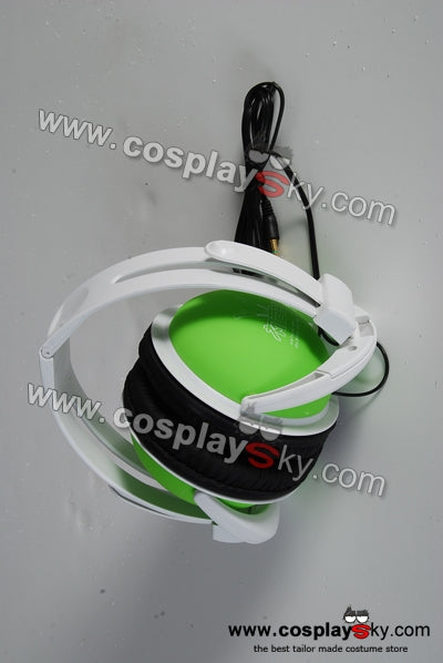 Vocaloid Miku Hatsune Green Headphones Headset
