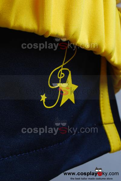 Vocaloid Len Project DIVA-F Sport Suit Cosplay Costume Version B