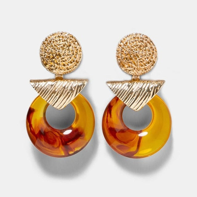 Fire Element Topaz Earrings - lionecher