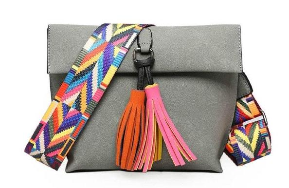African Messenger Bag - lionecher