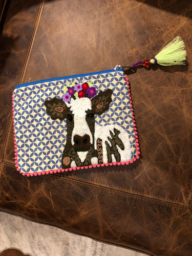 Small Cow Pouch