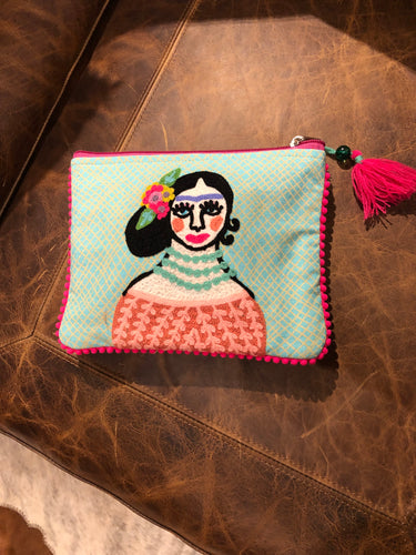 Small Frida Kahlo Pouch