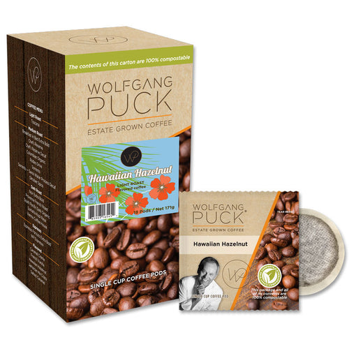 Wolfgang Puck Hawaiian Hazelnut Coffee Pods
