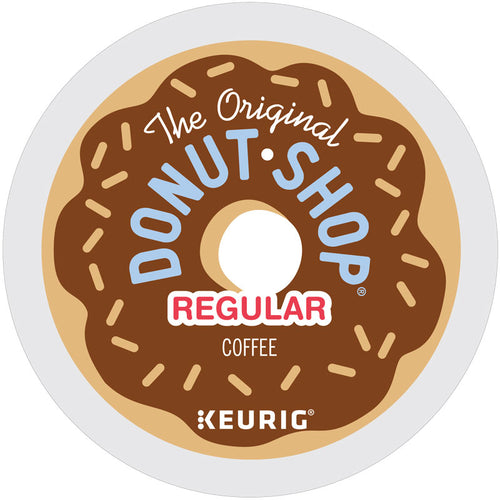 The Original Donut Shop Regular K-Cup Coffee Pods, 24 Pods per Box | Green Mountain Coffee Roasters