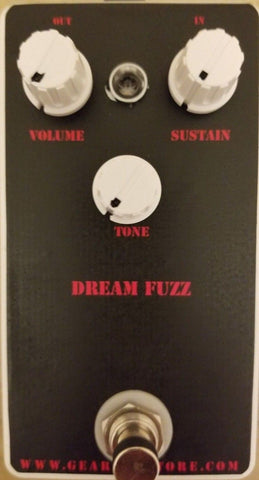 Geargas Custom Shop Dream Fuzz Pedal