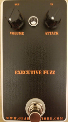 Geargas Custom Shop Executive Fuzz Pedal