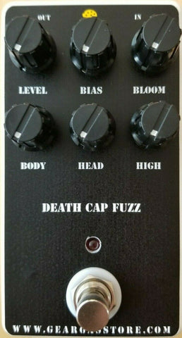 Geargas Custom Shop Death Cap Fuzz Pedal