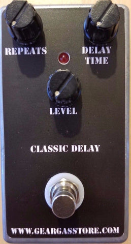 BYOC Classic Delay Pedal New ASSEMBLED