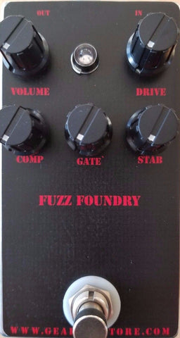 Geargas Custom Shop Fuzz Foundry Fuzz Pedal