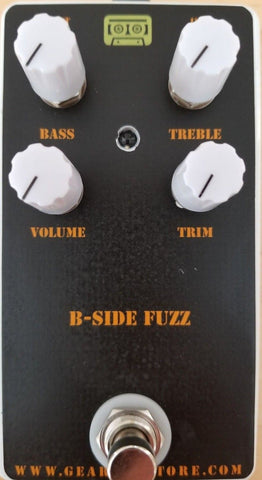 Geargas Custom Shop B-Side Fuzz Pedal