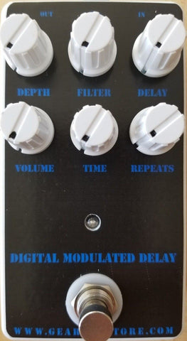 Geargas Custom Shop Digital Modulated Delay Pedal