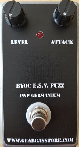 BYOC E.S.V Fuzz Germanium PNP Fuzz New ASSEMBLED