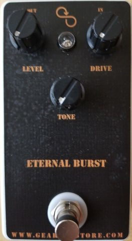 Geargas Custom Shop Eternal Burst Overdrive Pedal