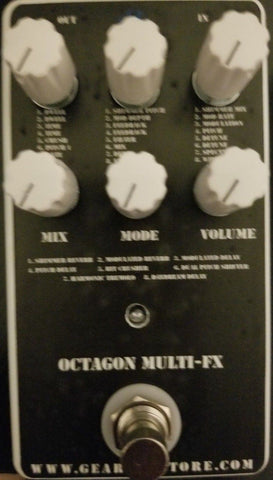 Geargas Custom Shop Octagon MultiFX Pedal