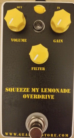 Geargas Custom Shop Squeeze My Lemonade Overdrive Pedal