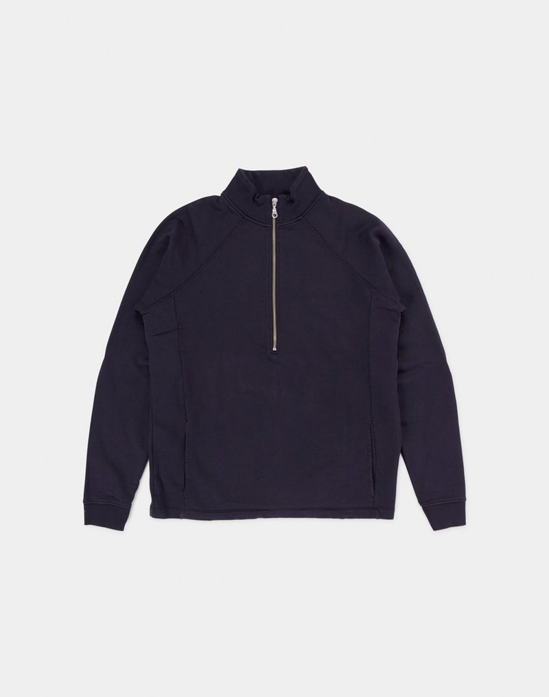 Folk - Rivet Funnel Sweatshirt Navy