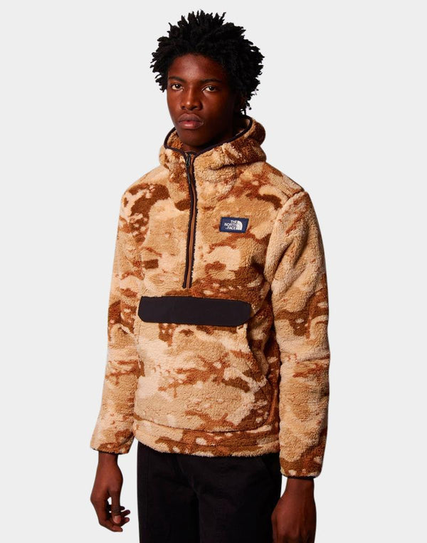 The North Face - Campshire Pullover Hoodie Camo Desert Khaki