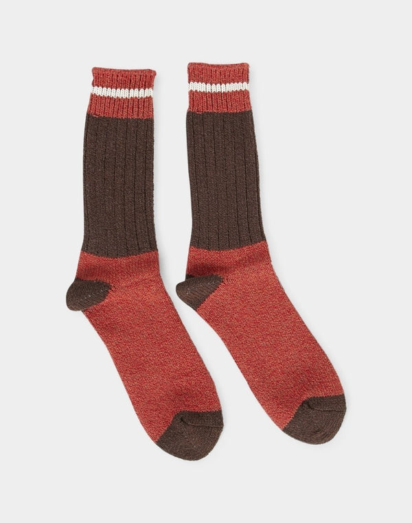 Anonymous Ism - OD Crew Sock Brown