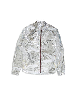 Soulland - Hobbie Reflective Light Zip Jacket Silver