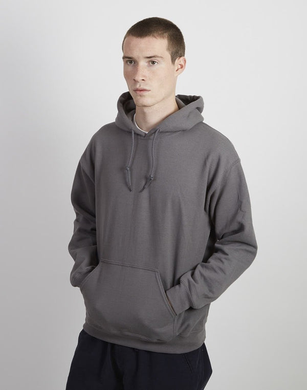 The Idle Man - Classic Overhead Hoodie Charcoal