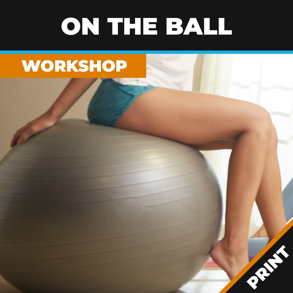 On the Ball - Full workshop Print