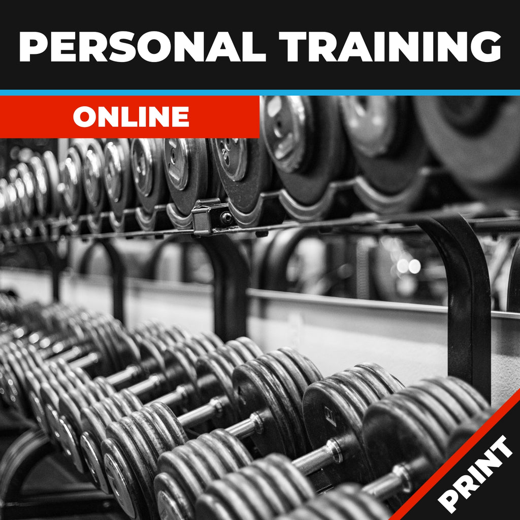 Personal Training Online Course Print