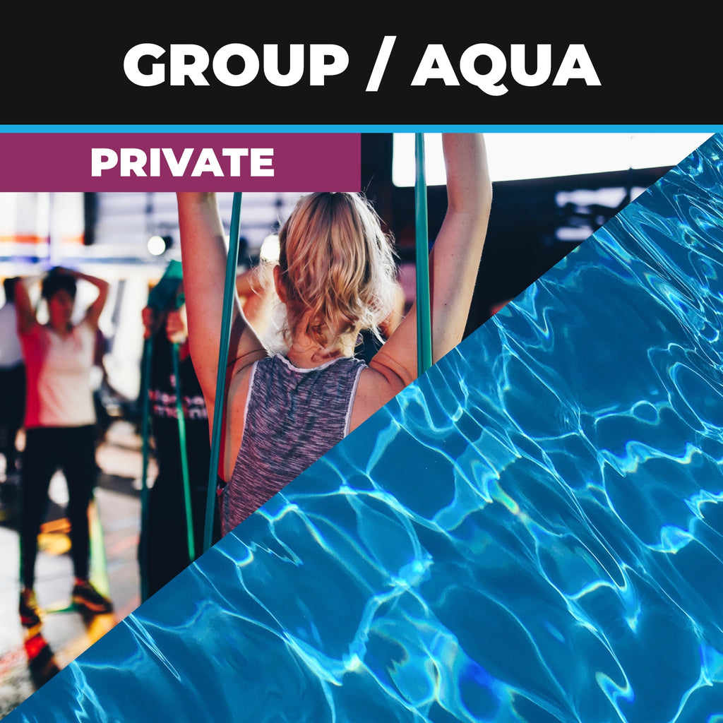 Private Group or Aqua Fitness Course