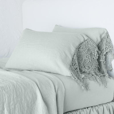 Bella Notte Linens Frida Eucalyptus Pillowcase
