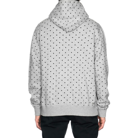 SOPHNET. Polka Dot Pull Over Parka Gray, Sweaters