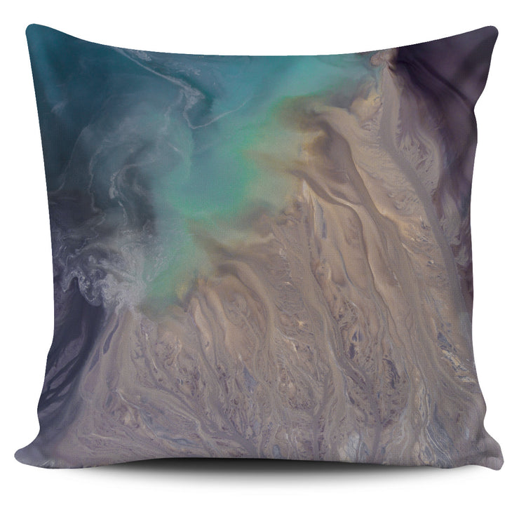 Ocean and Sand Pillow Cover