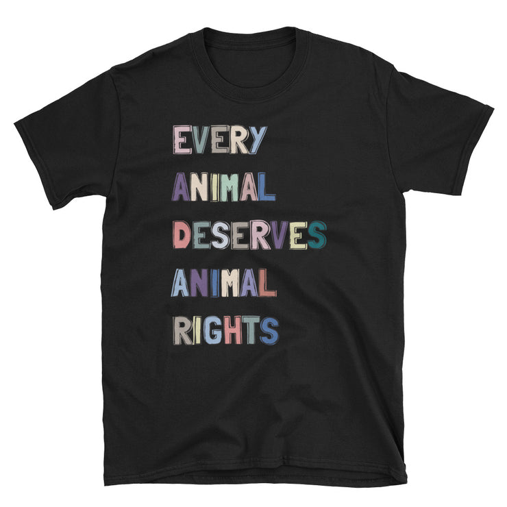 Every Animal Deserves Animal Rights T-shirt