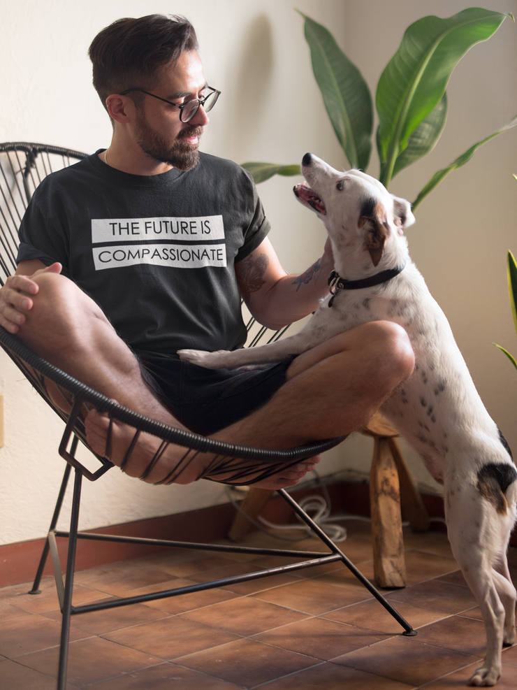 The Future is Compassionate- Men's T-Shirt