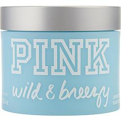 PINK WILD & BREEZY by Victoria's Secret - BODY BUTTER 10.5 OZ