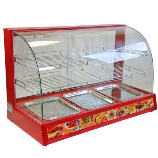KuKoo 90cm Wide Glass Food Warmer - techni-pros