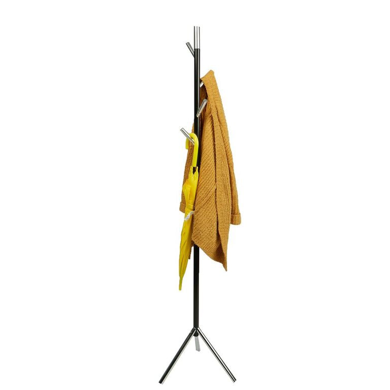 Free Standing Jacket, Hat, Coat Rack Hanger Umbrella Holder with 4 Hooks