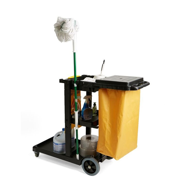 Commercial Heavy Duty Janitorial Utility Cart