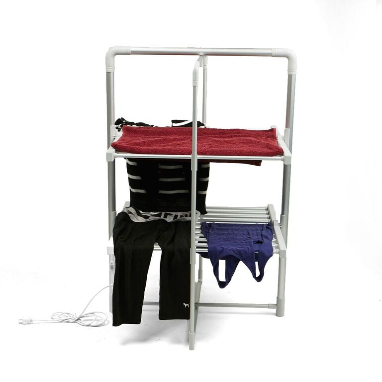 Electric Heated Clothing Rack