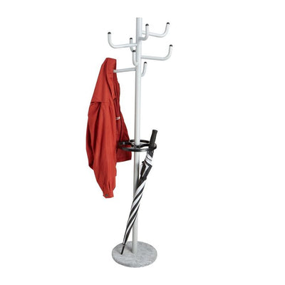 Free Standing 8 Hook Metal Coat